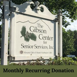 Monthly Recurring Donation