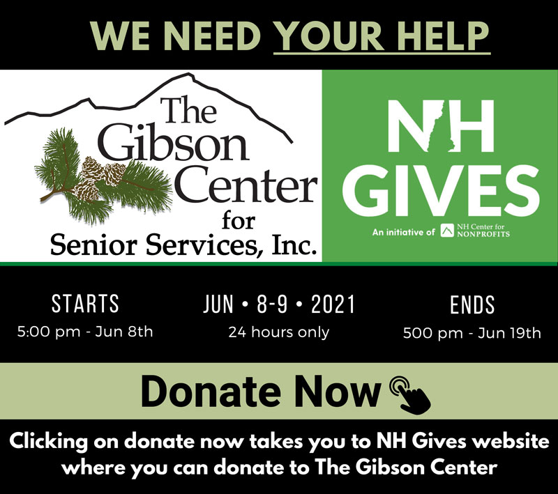 NH Gives - Donate to The Gibson Center